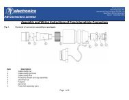 Assembly and Wiring Instructions of Free Intervehicle Connectors