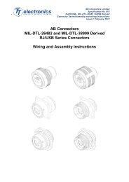 AB Connectors MIL-DTL-26482 and MIL-DTL-38999 Derived RJ ...