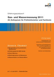 Gas- und Wassermessung 2011 20. Kolloquium für Prüfstellenleiter ...