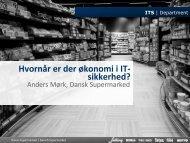 Hvornår er der økonomi i IT-sikkerhed? - Dubex