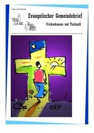 Konfirmation 2010 - Evangelische Kirchengemeinde Frickenhausen