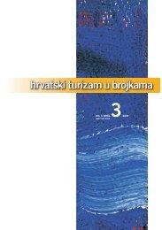 Hrvatski turizam u brojkama 3/2009 - Institut za turizam