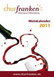 Weinkalender - Churfranken