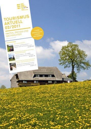 TOURISMUS AKTUELL 02/2011 - Presse - Baden-Württemberg