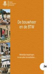 Brochure De bouwheer en de BTW - Bouwservice