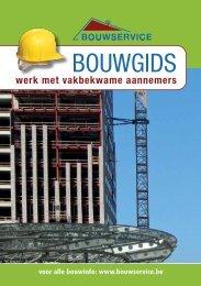 bouwgids - Gedrukte versie - Bouwservice