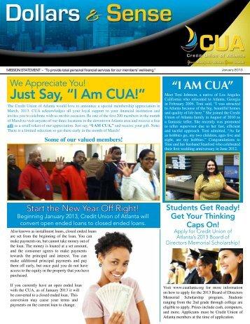 """Just Say """"I Am CUA!"""""""