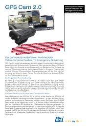GPS Cam 2.0 Prospekt (D) - Dnt