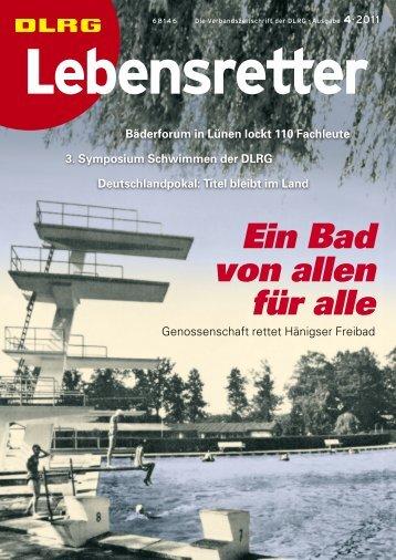 Lebensretter 4/2011 - DLRG