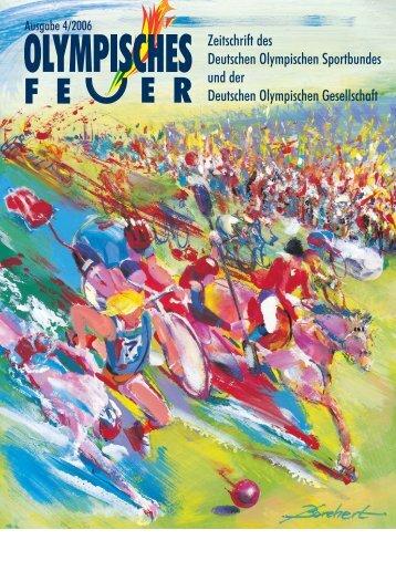 Zeitschrift des Deutschen Olympischen Sportbundes und der ...