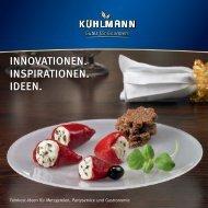 INNOVATIONEN. INSPIRATIONEN. IDEEN. - Kühlmann