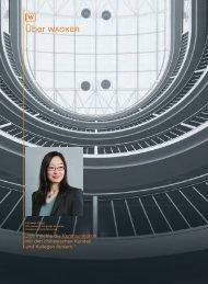 220;ber WACKER - Wacker Chemie AG Annual Report