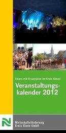 kalender 2012 - Wirtschaftsförderung Kreis Kleve GmbH
