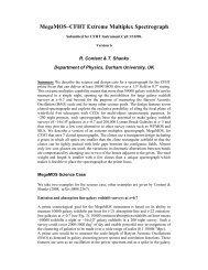 MegaMOS–CFHT Extreme Multiplex Spectrograph