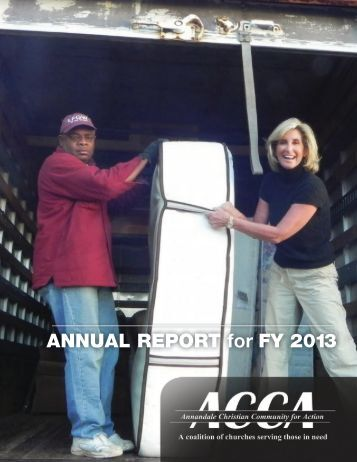 ANNUAL REPORT for FY 2013