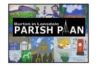 Presentation to Parish Council April 12 - Burton in Lonsdale Village