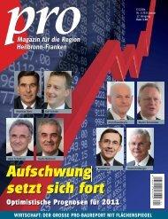 Aufschwung setzt sich fort - Wirtschaftsregion Heilbronn - Franken