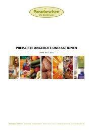 paradieschen.de - Preisliste Angebote und Aktionen - Bringmirbio