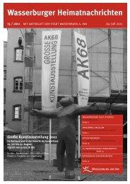 Wasserburger Heimatnachrichten 15 / 2011 - Wasserburg am Inn!