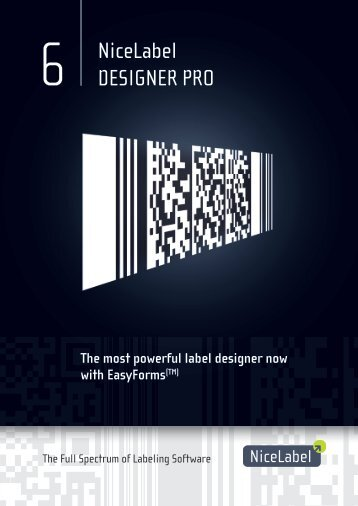 NiceLabel Designer Pro V6