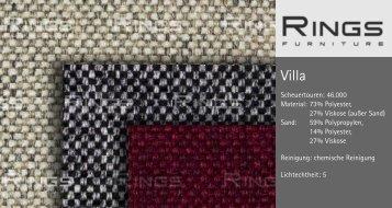 Villa - RINGS Furniture
