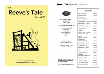 Reeve's Tale Magazine