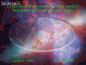 Search for point sources - Osservatorio Astronomico di Teramo