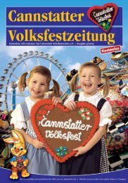 Volksfest-Zeitung 2009:Volksfest-Zeitung 2005 - Cannstatter Volksfest