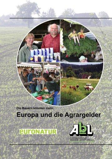 Europa und die Agrargelder (1,5 MB) - Die bessere Agrarpolitik