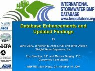 Database Enhancements and Updated Findings