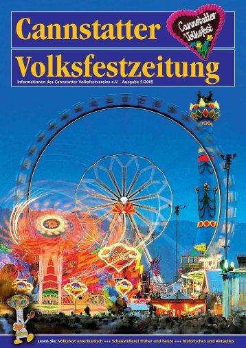 Ausgabe 2005 - Cannstatter Volksfest