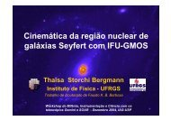 Cinemática da região nuclear de galáxias Seyfert com IFU-GMOS