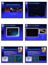 Astronomia Dinâmica