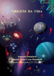 ORIGENS DA VIDA