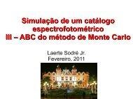 3. ABC do método de Monte Carlo - Astronomia