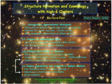 Structure Formation and Cosmology with high-z Clusters