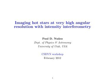 Imaging hot stars at very high angular resolution with intensity interferometry