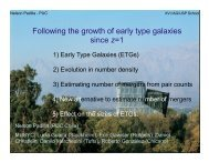 Following the growth of early type galaxies since z=1