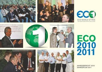 JAHRESBERICHT 2010 JAHRESPLAN 2011 - Eco World Styria