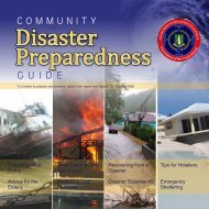 Community Disaster Preparedness Guide - The Department of ...