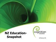 NZ Education- Snapshot