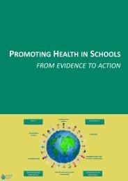 PROMOTING HEALTH SCHOOLS
