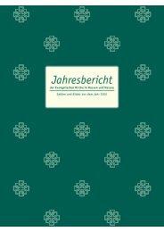 Jahresbericht - Evangelische Kirche in Hessen und Nassau