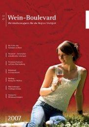 Wein-Boulevard 2007 - Pro Stuttgart
