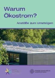 Warum Ökostrom? - Evangelische Kirche in Hessen und Nassau