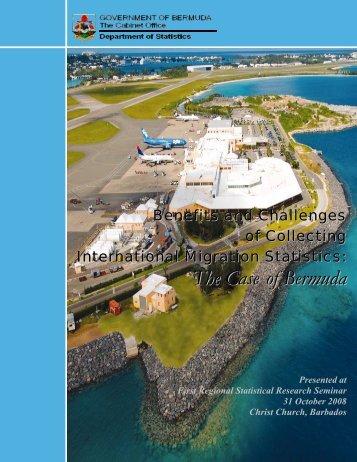 The Case of Bermuda - CARICOM Statistics