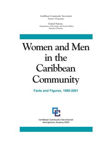 Women and Men in the Caribbean Community