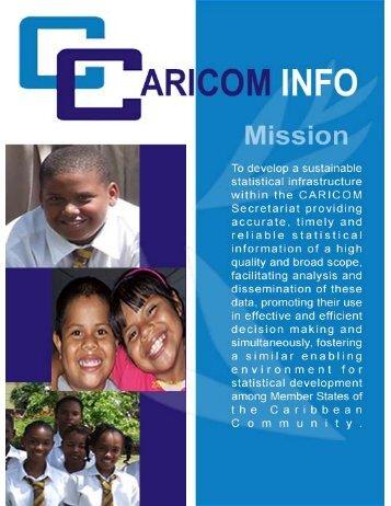 pdf brochure - CARICOM Statistics