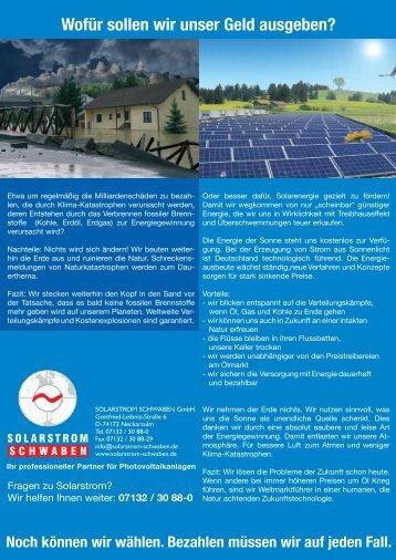 NOVATECH - Ihr Partner für erneuerbare Energie - NATURSCHECK