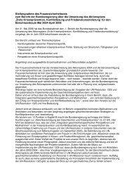 Stellungnahme des Frauensicherheitsrats zum Bericht der ...